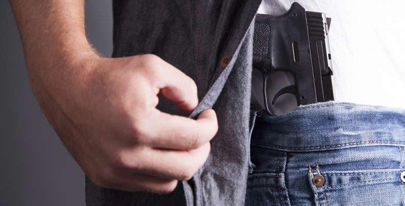 Porte de arma de Policial Militar